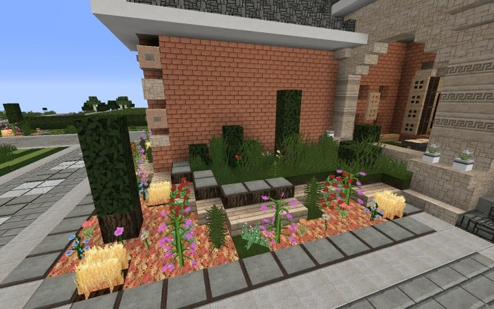 Large Suburban House minecraft building amazing idea download 6