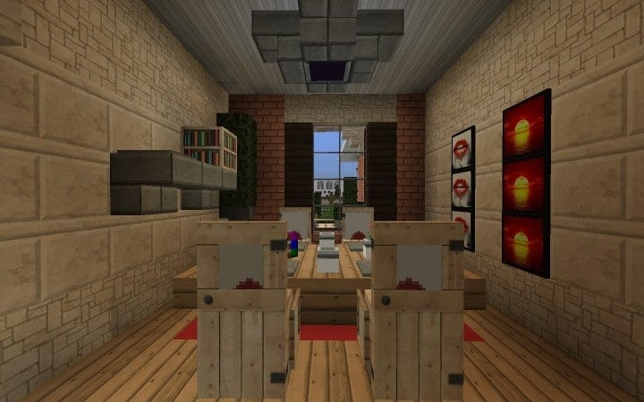 Large Suburban House minecraft building amazing idea download 9