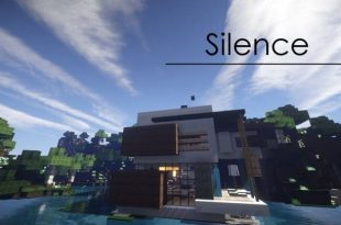 SILENCE modern house minecraft building ideas design download save