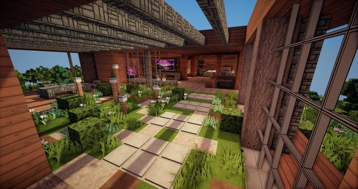 Aspen - A modern conceptual house built by MCE minecraft building expert idea 11