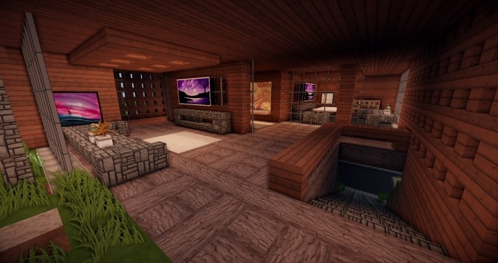 Aspen - A modern conceptual house built by MCE minecraft building expert idea 12