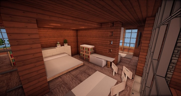 Aspen - A modern conceptual house built by MCE minecraft building expert idea 14