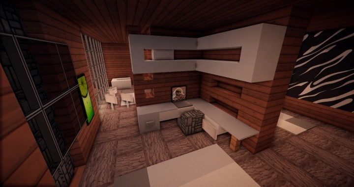 Aspen - A modern conceptual house built by MCE minecraft building expert idea 15