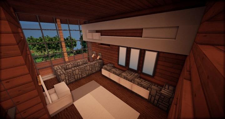 Aspen - A modern conceptual house built by MCE minecraft building expert idea 19