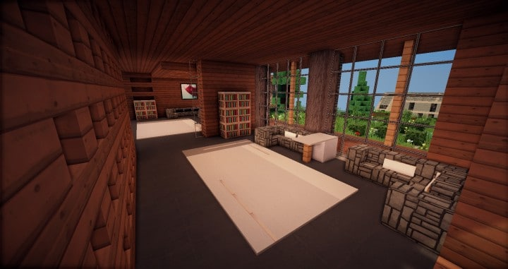 Aspen - A modern conceptual house built by MCE minecraft building expert idea 4