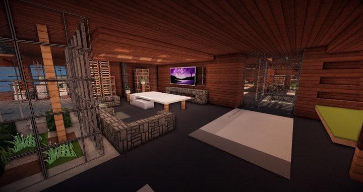 Aspen - A modern conceptual house built by MCE minecraft building expert idea 6