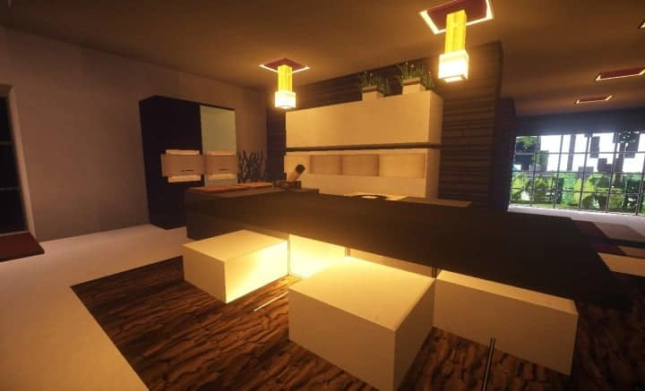 Trascend Modern House - Minecraft House Design