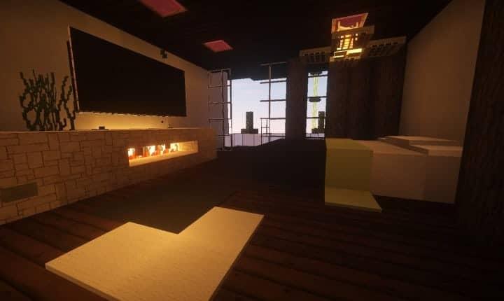 Trascend Modern House minecraftr inspiration mansion huge home download 11