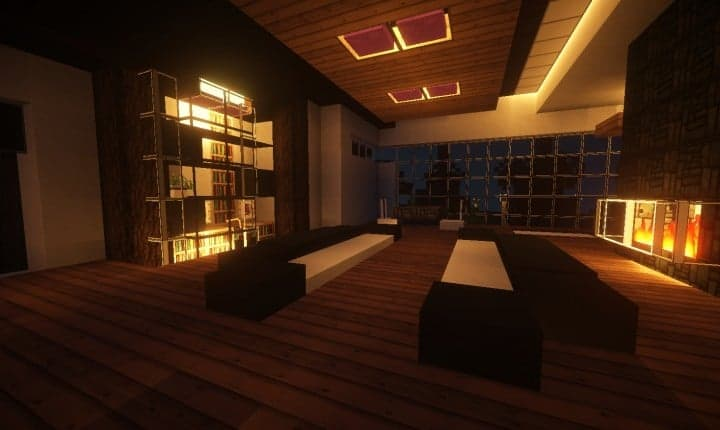 Trascend Modern House minecraftr inspiration mansion huge home download 12
