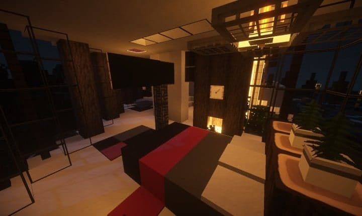 Trascend Modern House minecraftr inspiration mansion huge home download 13