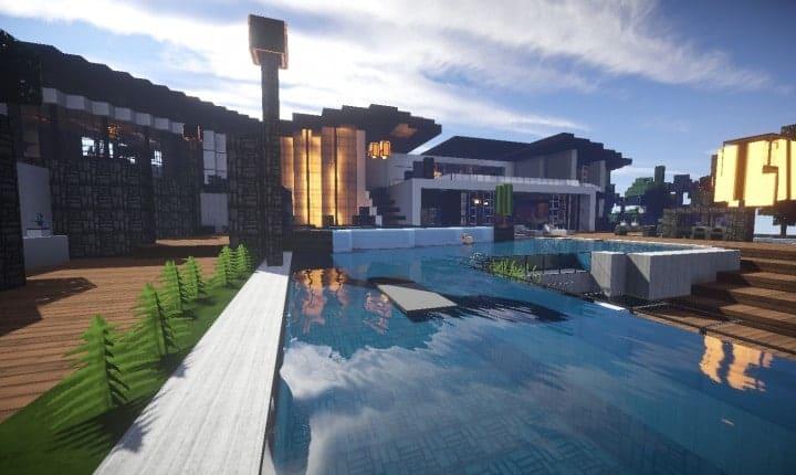 Trascend Modern House – Minecraft House Design