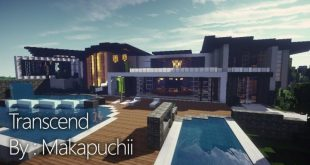 here is a modern mansion built by makapuchii this house has many features including multiple pools ponds covered breezeways full tennis court piano room