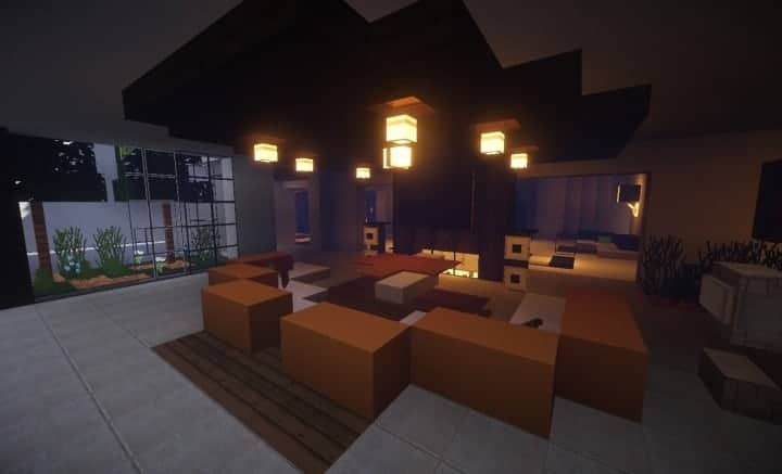 Trascend Modern House minecraftr inspiration mansion huge home download 7