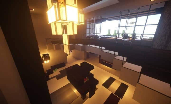 Trascend Modern House minecraftr inspiration mansion huge home download 8