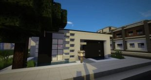 Modern starter home by BlueBerryBear house minecraft download save complete done