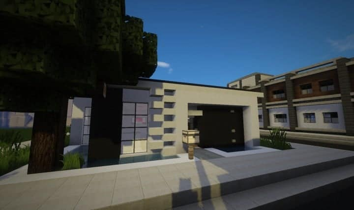 Modern Starter Home Minecraft House Design