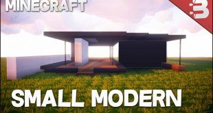 Minecraft How To Build A Small Modern House Minecraft House Design