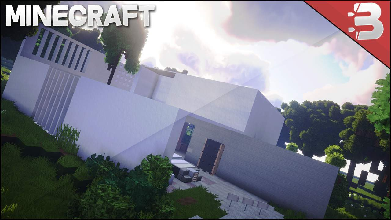 Photo of Minecraft: White Modern House [Epic]