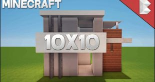 Minecraft Small Modern House 10x10 Archives Minecraft House Design