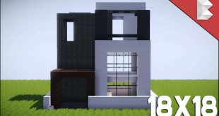 Minecraft house design page 2 for Modern house 18x18