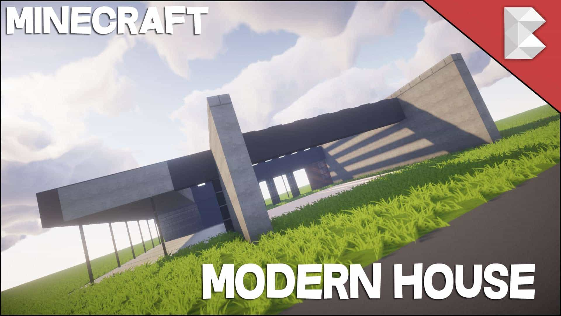 Photo of Minecraft Modern Stone House