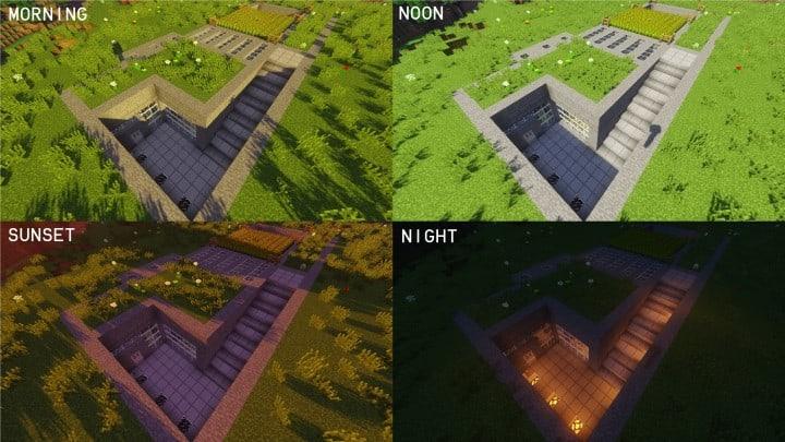 Underground house ideas minecraft pictures
