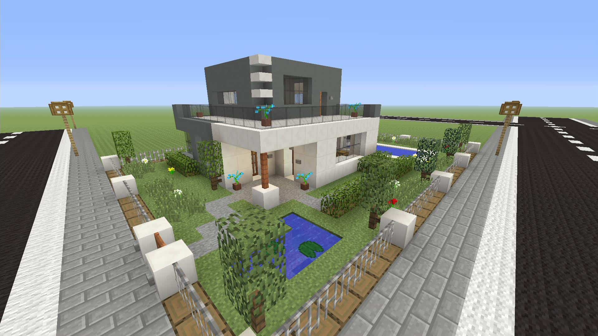 Minecraft how to make a modern 12 x 12 house xbox one minecraft house design - Make a house a home ...