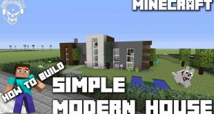 Modern Minecraft House Design