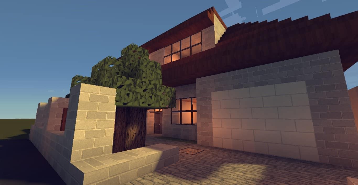 Step By Step Easy Minecraft House Pdf Modern House ...