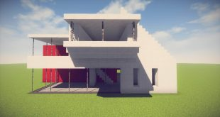 Future Archives Minecraft House Design
