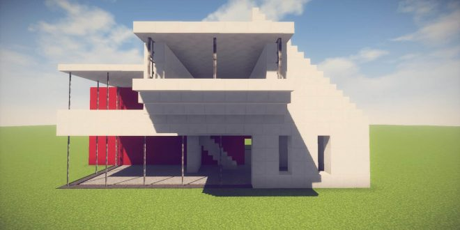 minecraft simpleeasy modern house easy minecraft house tutorial minecraft house design - Simple And Modern House Design