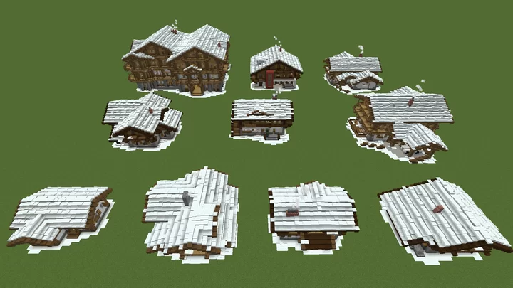 Photo of Minecraft House Pack – Winter