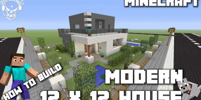 Minecraft How To Make A Modern 12 X 12 House Xbox One