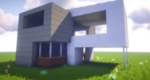 Future  Minecraft House Design - Minecraft modern house 5x5