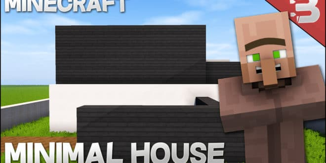 Minecraft How to Build a Simple Modern House 2 Best House